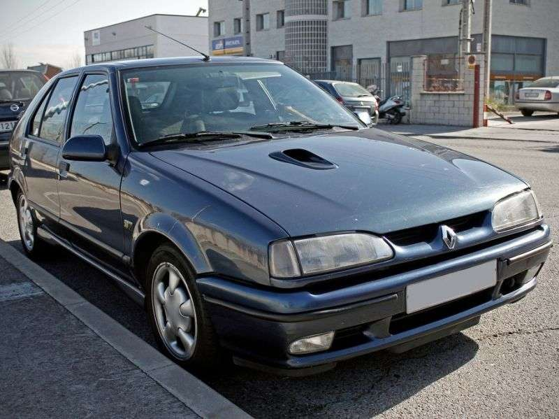 Renault 19 2 generation hatchback 5 dv. 1.9 dT MT (1992–1996)