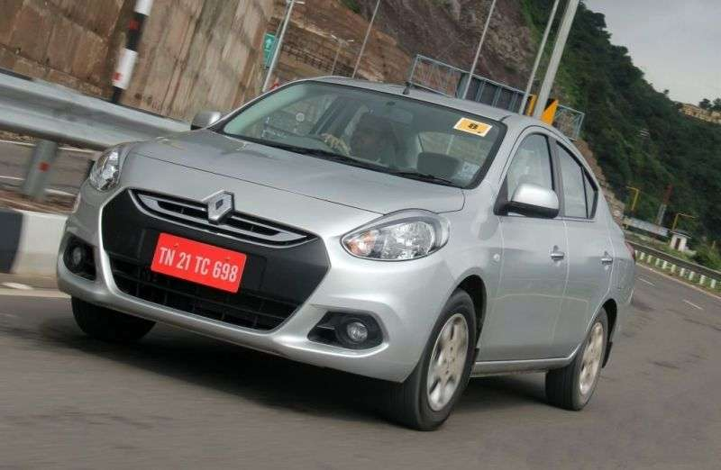 Renault Scala 1st generation 4 in. Sedan 1.5 dCi MT (2012 – current century)