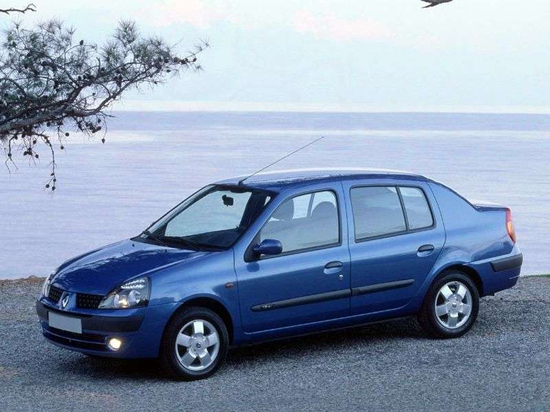Renault Symbol 1st generation [restyled] sedan 1.5 dCi MT (2002–2005)