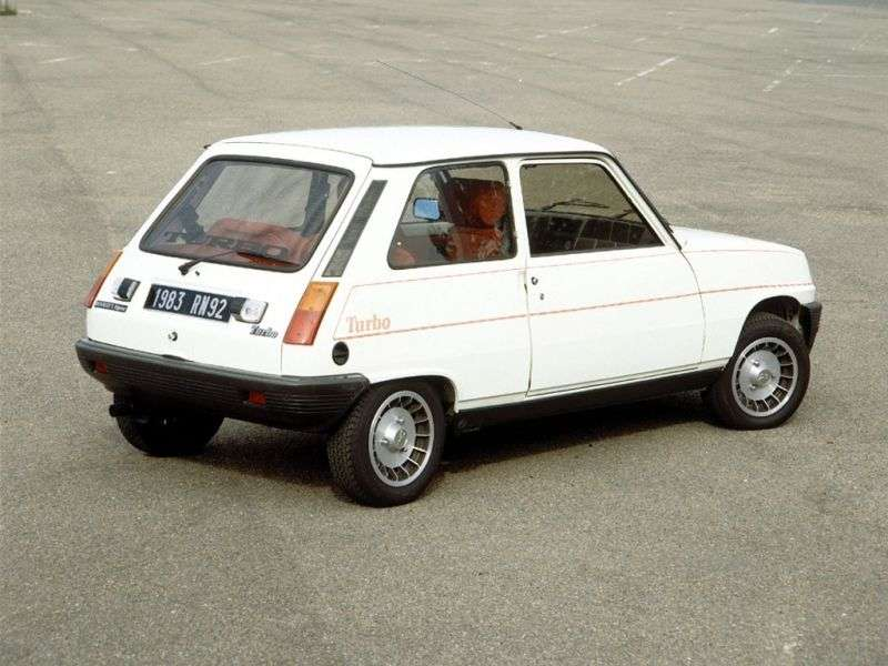 Renault 5 1st generation Alpine Turbo 3 bit hatchback 1.4 T MT (1982–1985)