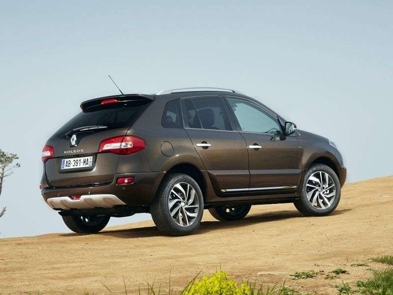 Renault Koleos 1st generation [2nd restyling] crossover 2.5 CVT 4WD Luxe Privilege (2013 – current century)