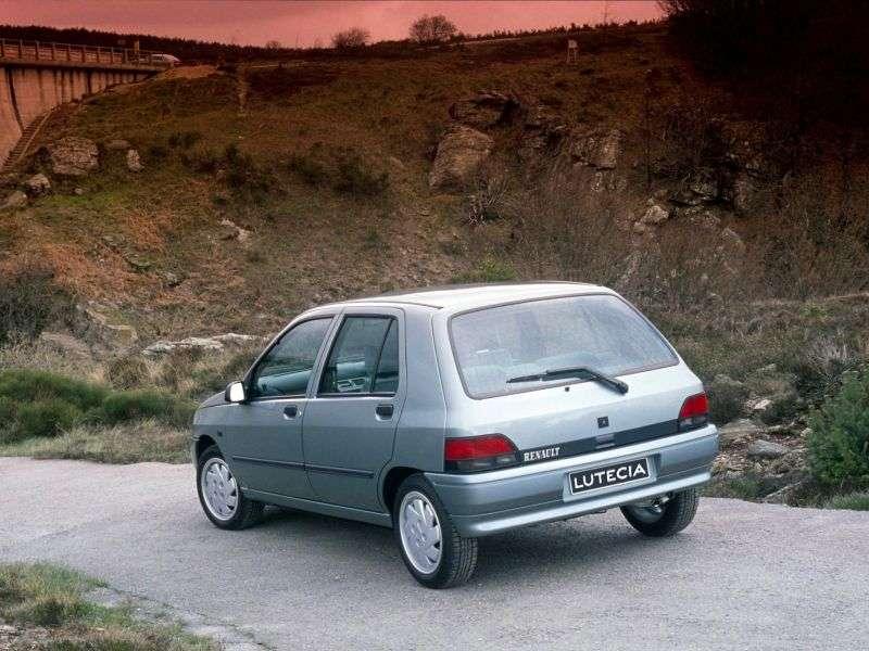 Renault Lutecia 1 generation hatchback 5 dv. 1.8 MT (1995–1996)