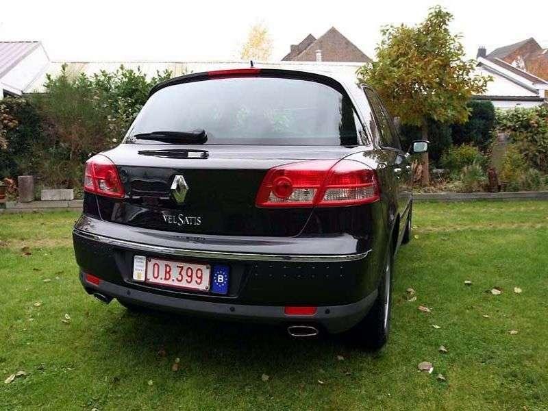 Renault Vel Satis 1st generation [restyled] hatchback 2.0 T AT (2005–2009)