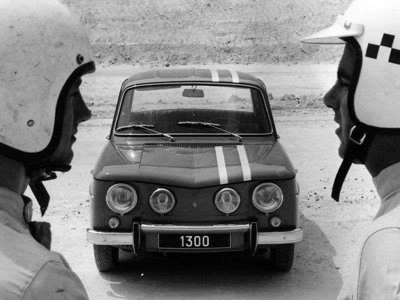 Renault 8 1st generation Gordini sedan 4 doors. 1.3 MT (1967–1970)