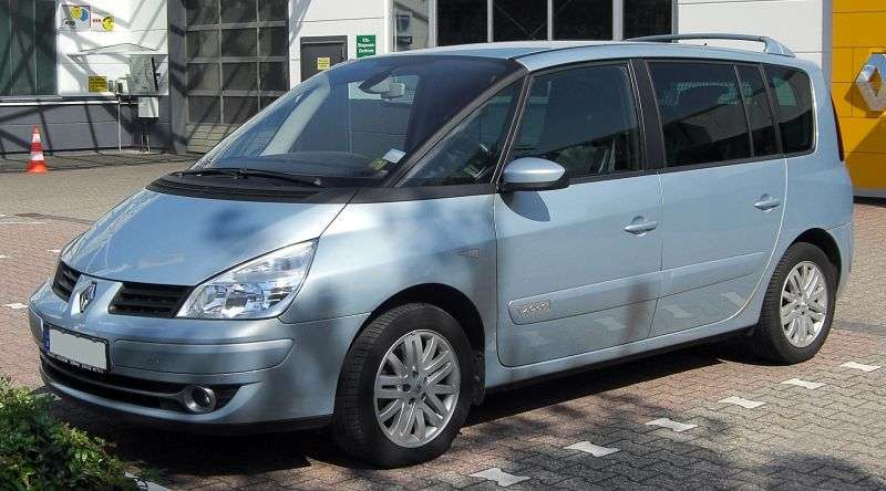 Renault Espace 4th generation [restyled] minivan 2.0 T AT (2006–2012)