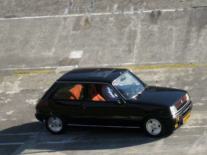 Renault 5 1st generation Alpine hatchback 3 dv. 1.4 MT (1976–1984)
