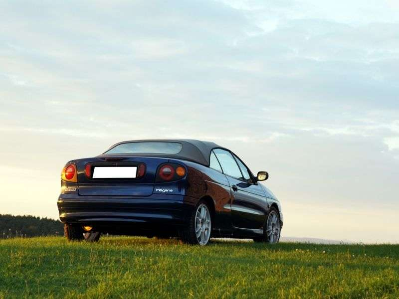 Renault Megane 1st generation Convertible 2.0 AT (1997–1999)