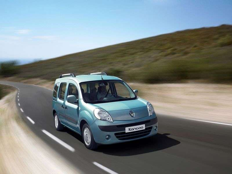 Renault Kangoo 2nd generation Passenger minivan 1.6 MT Authentique (2011) (2007 – n.)