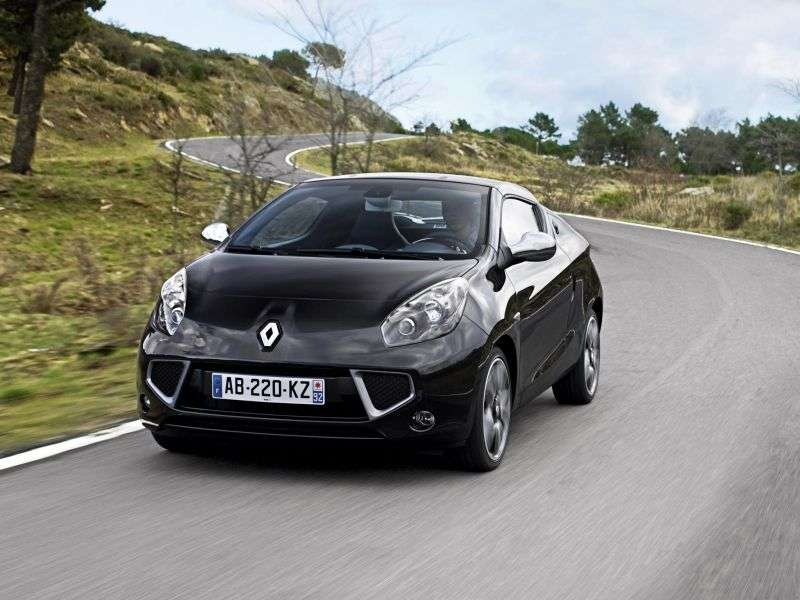 Renault Wind 1st generation Roadster 1.6 MT (2010 – n.)