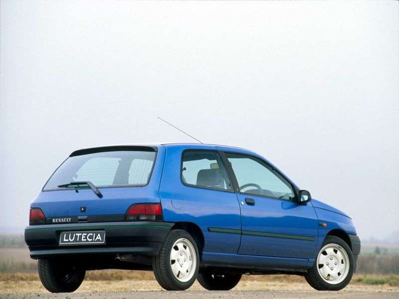 Renault Lutecia 1 generation hatchback 3 dv. 1.4 AT (1991–1995)