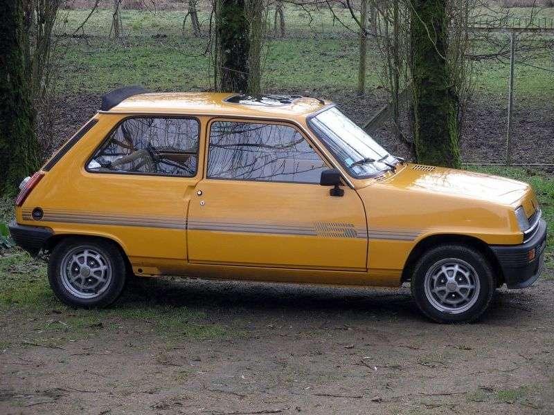 Renault 5 1st generation Campus 3 dv hatchback 0.8 MT (1984–1985)