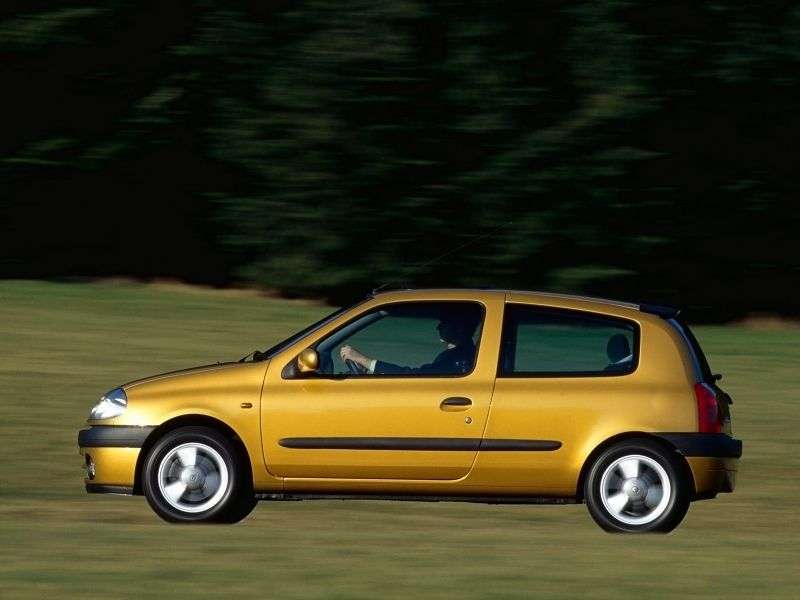 Renault Lutecia 2 generation hatchback 3 dv. 1.6 AT (1998–2001)