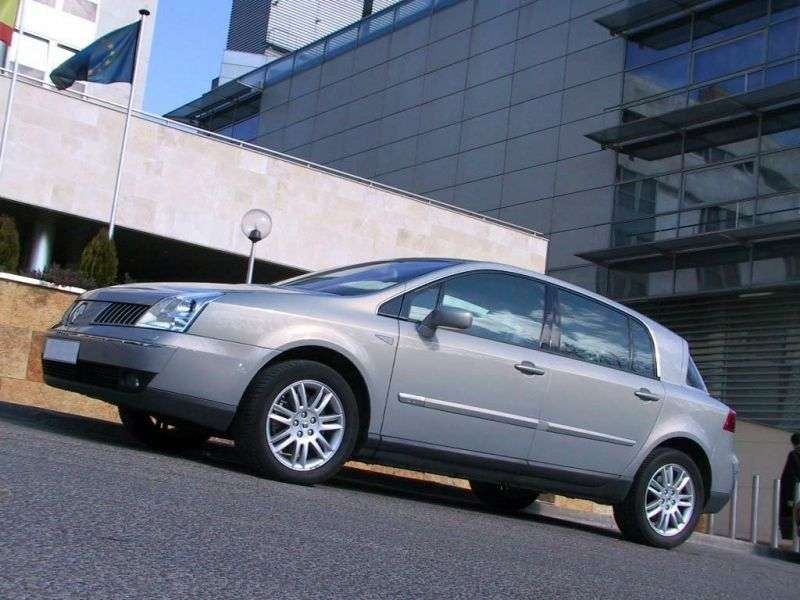 Renault Vel Satis 1st generation hatchback 3.5 AT (2002–2005)