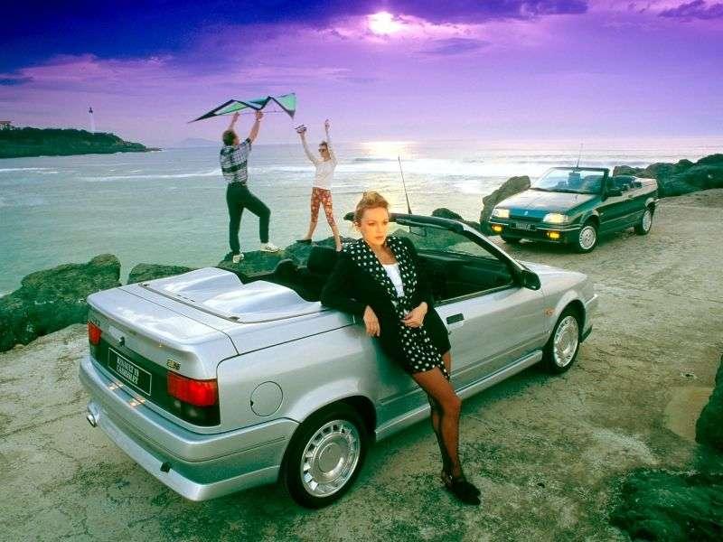 Renault 19 1st generation convertible 1.8 MT (1991–1992)
