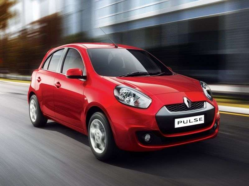 Renault Pulse 1st generation hatchback 1.5 dCi MT (2012 – n.)