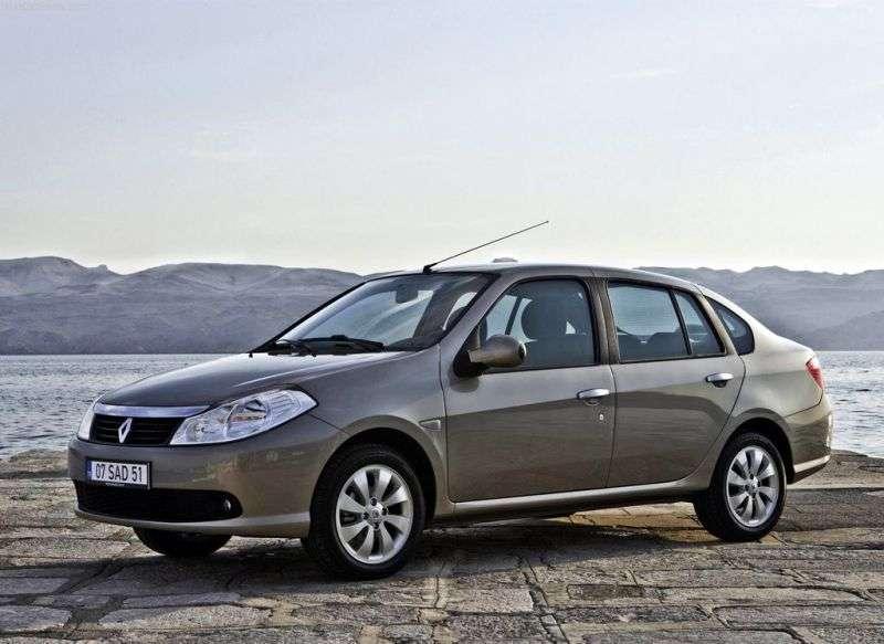 Renault Thalia 2nd generation sedan 1.4 MT (2008 – n. In.)