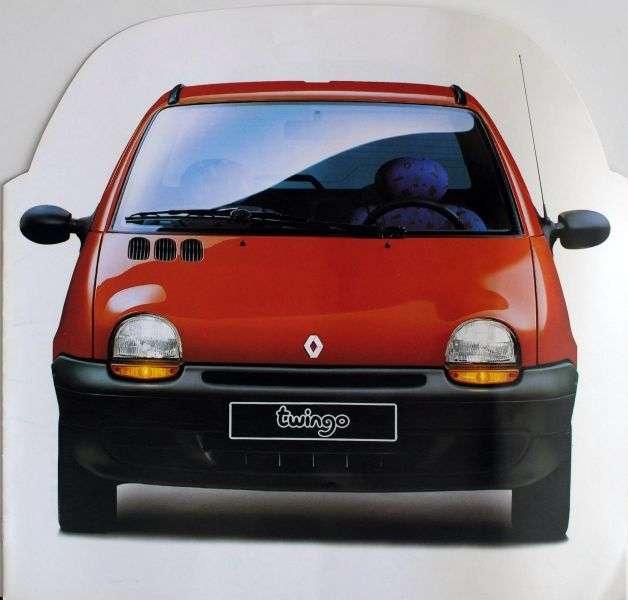 Renault Twingo 1st generation 1.2 MT hatchback (1996–1998)