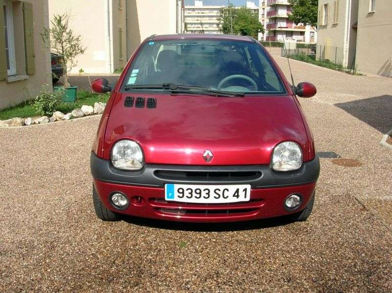 Renault Twingo 1st generation [2nd restyling] 1.2 MT hatchback (2000–2004)