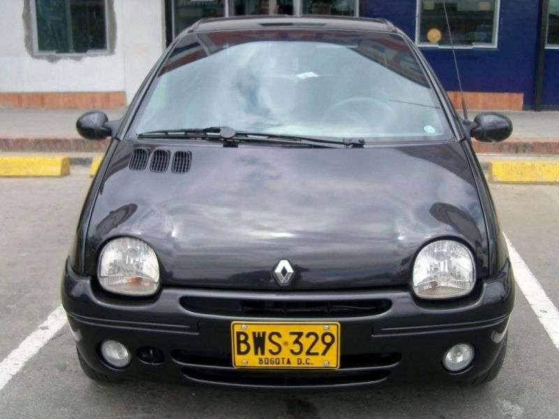 Renault Twingo 1st generation [3rd restyling] hatchback 1.2 MT (2004–2012)