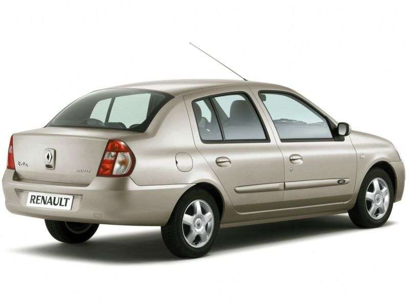 Renault Thalia 1st generation [2nd restyling] 1.4 AT EURO 3 sedan (2006–2008)