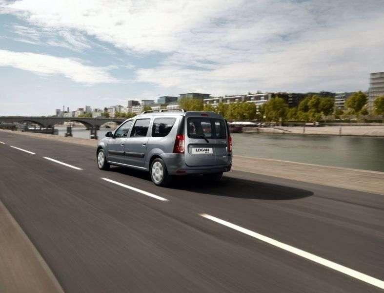 Renault Logan 1st generation [restyling] MCV station wagon 1.6 MT LPG 7 seat (2009 – n.)
