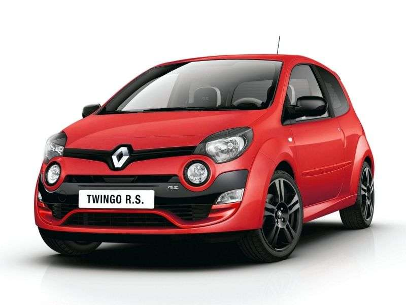 Renault Twingo 2 generation [restyling] RS hatchback 3 dv. 1.6 MT (2012 – n. In.)