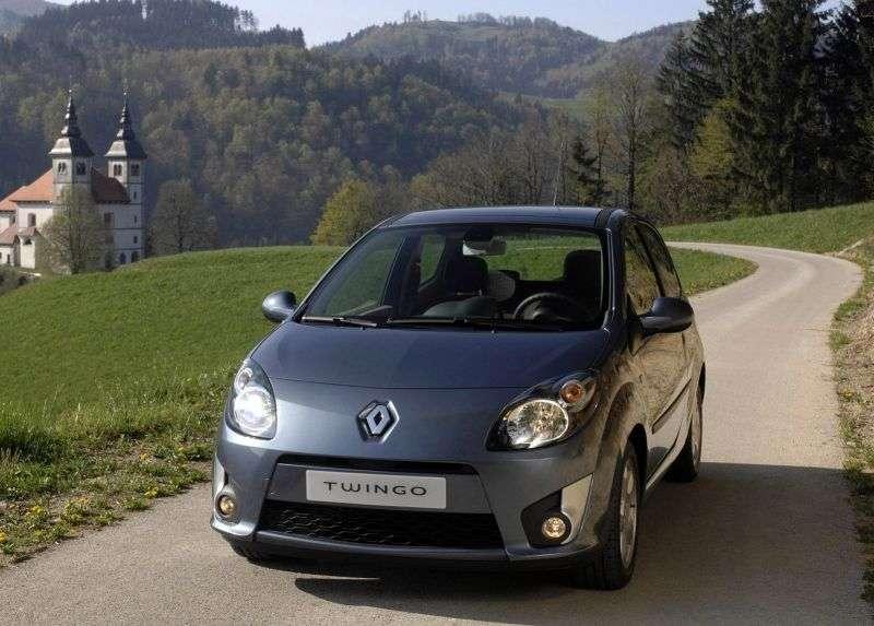 Renault Twingo 2 generation GT hatchback 3 dv. 1.2 T MT (2007–2012)