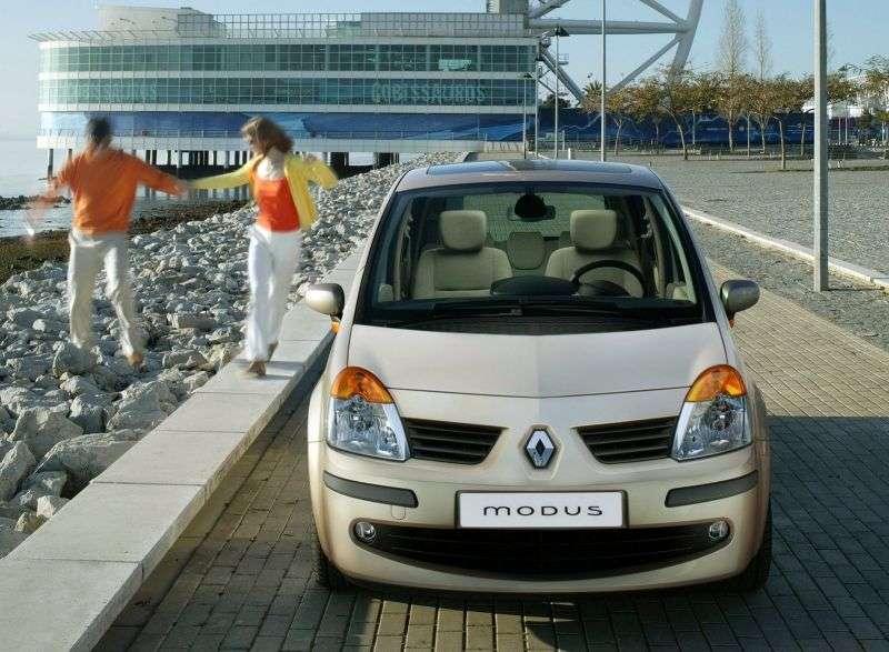 Renault Modus 1st generation minivan 1.5 dCi MT (2004–2007)