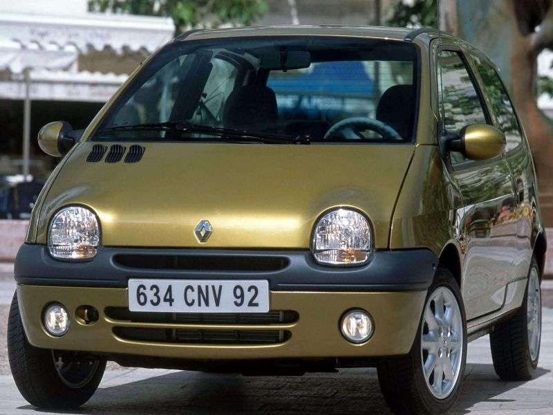 Renault Twingo 1st generation [2nd restyling] hatchback 1.2 MT (2001–2004)