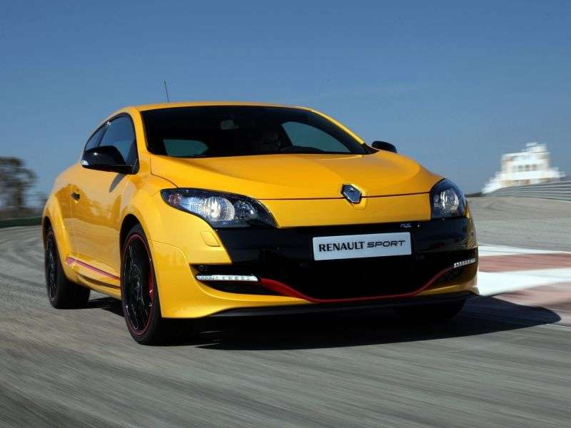 Renault Megane 3rd generation [restyling] RS hatchback 3 dv. 2.0 TCe MT (2012 – n. In.)