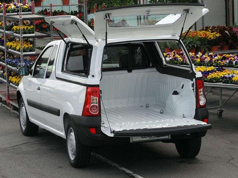 Renault Logan 1st generation [restyling] pickup 1.6 MT (2008 – n.)