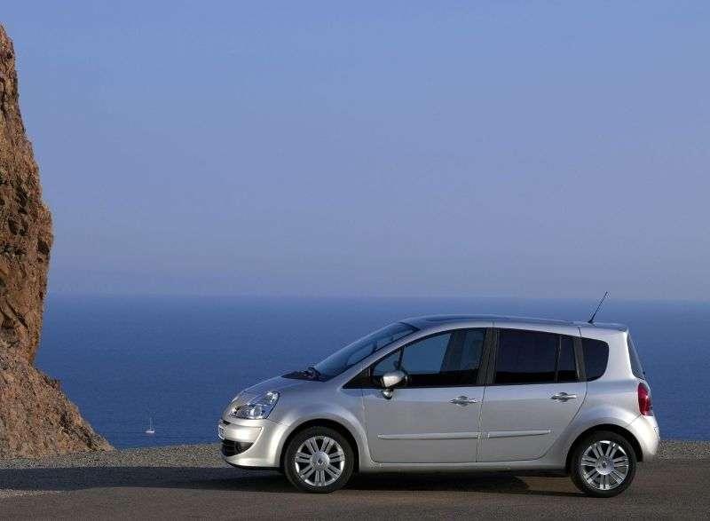 Renault Modus 2nd generation Grand 5 door minivan 1.6 MT (2007–2012)