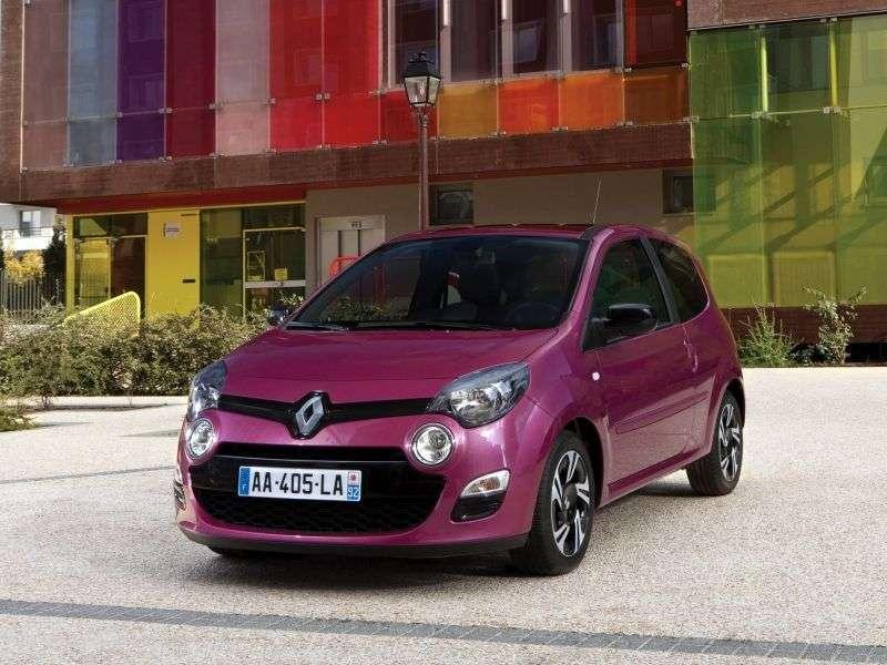Renault Twingo 2 generation [restyling] 3 bit hatchback 1.5 dCi MT (2011 – n. In.)