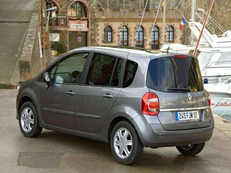 Renault Modus 2nd generation Grand 5 door minivan 1.5 dCi AMT (2007–2012)
