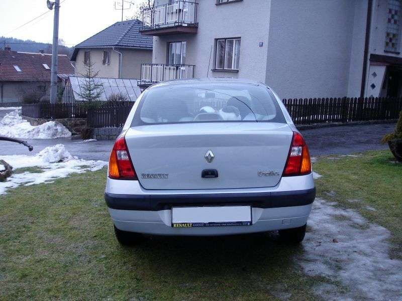 Renault Thalia 1st generation [restyled] sedan 1.4 AT (2002–2006)