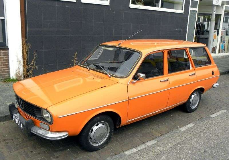 Renault 12 1st generation wagon 1.3 MT (1969–1975)