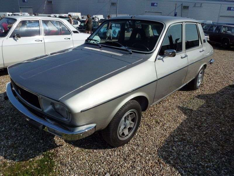 Renault 12 1st generation [restyled] sedan 1.3 AT (1975–1980)
