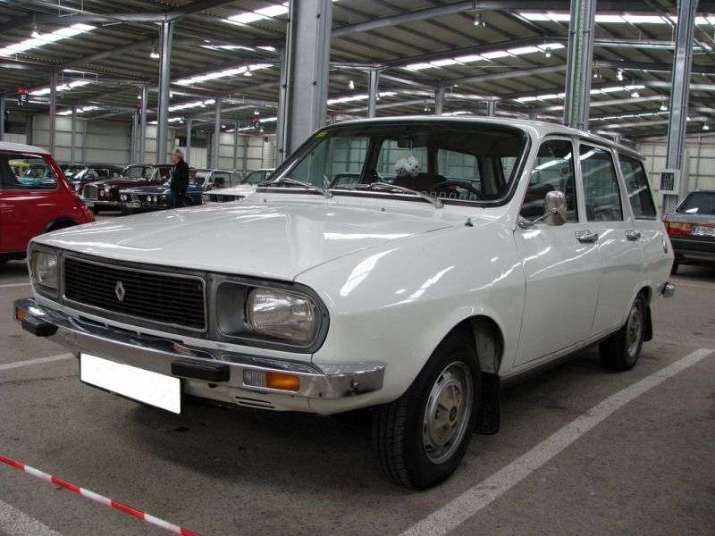 Renault 12 1st generation [restyled] wagon 1.3 MT (1975–1980)