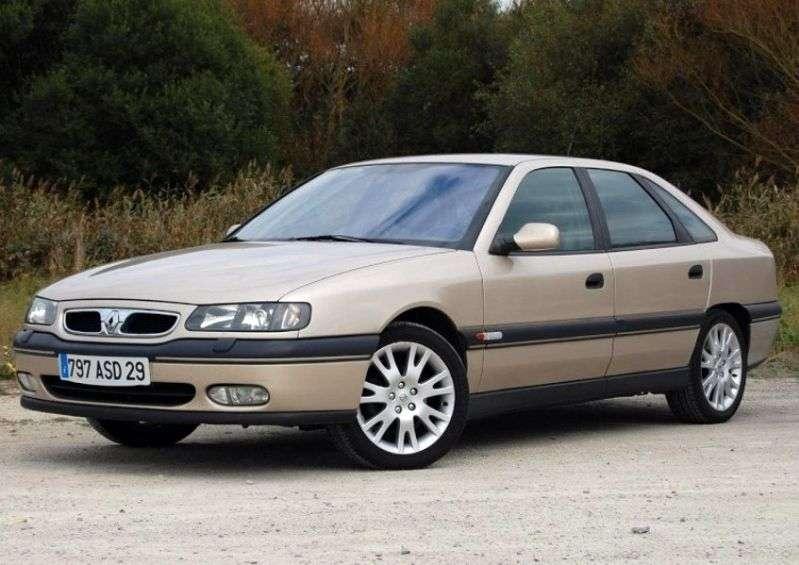 Renault Safrane 1st generation [restyling] Questor 5 bit hatchback 2.5 AT (1996–2000)