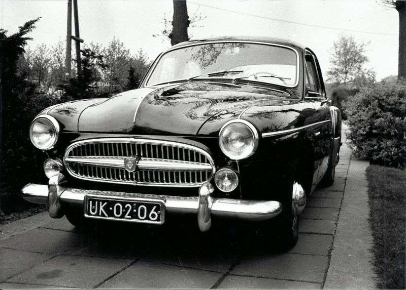 Renault Fregate 1st generation [restyled] 2.1 MT sedan (1956–1957)