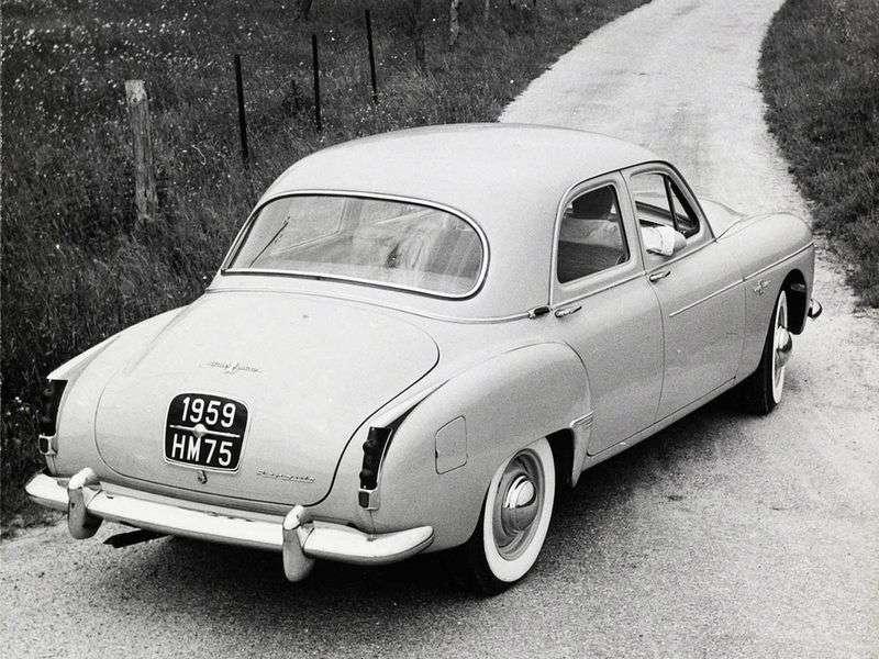 Renault Fregate 1st generation [2nd restyling] 2.1 MT sedan (1958–1960)