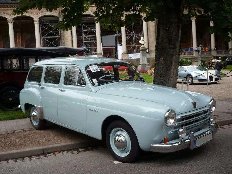 Renault Fregate 1st generation Domaine wagon 2.0 MT (1953–1955)