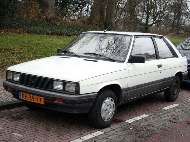 Renault 11 1st generation hatchback 3 dv. 1.6 D MT (1983–1986)