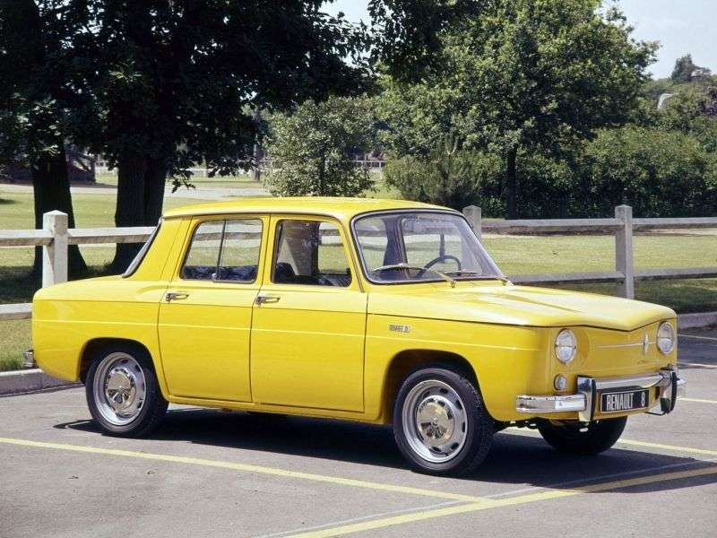 Renault 8 1st generation sedan 1.0 MT (1962–1967)