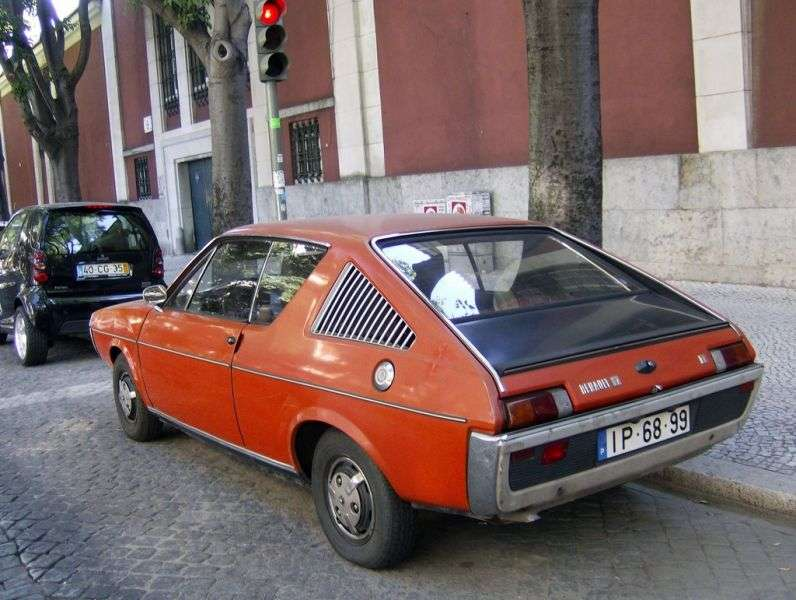 Renault 17 1st generation coupe 1.6 AT (1974–1976)