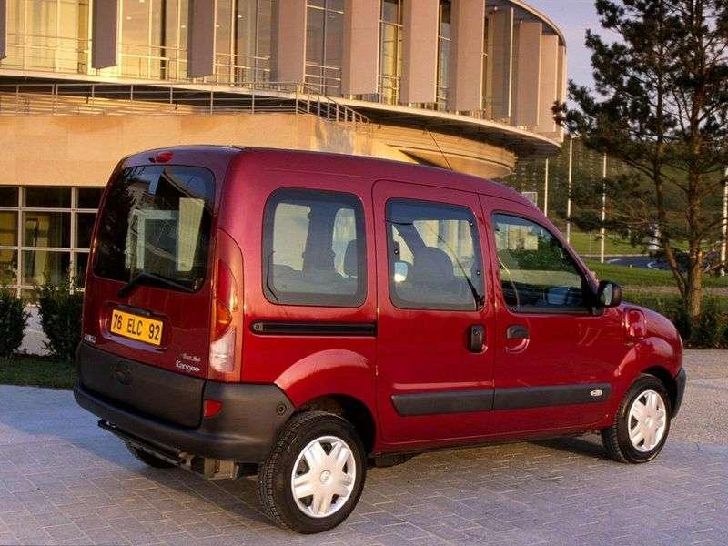 Renault Kangoo 1st generation minivan 1.6 MT AWD (2001–2003)