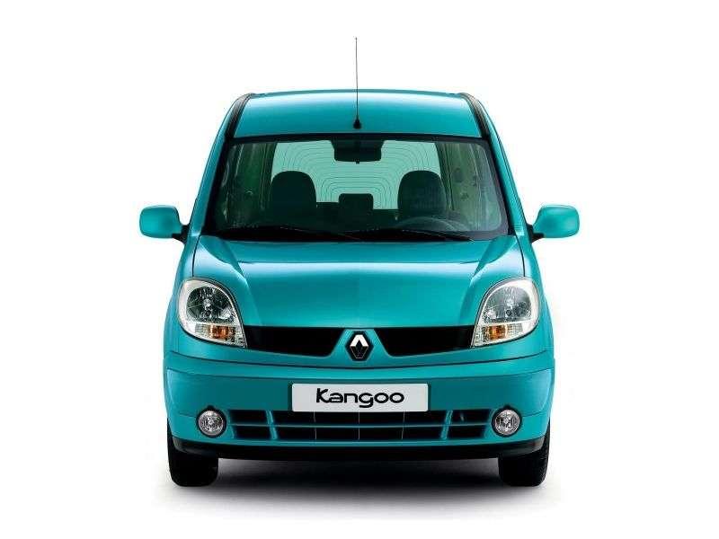 Renault Kangoo 1st generation [restyled] Passenger minivan 1.6 MT (2003–2007)