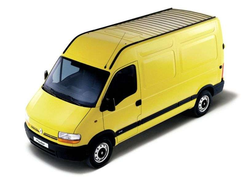 Renault Master 2 generation van 2.5 D L2H2 MT (1998–2003)