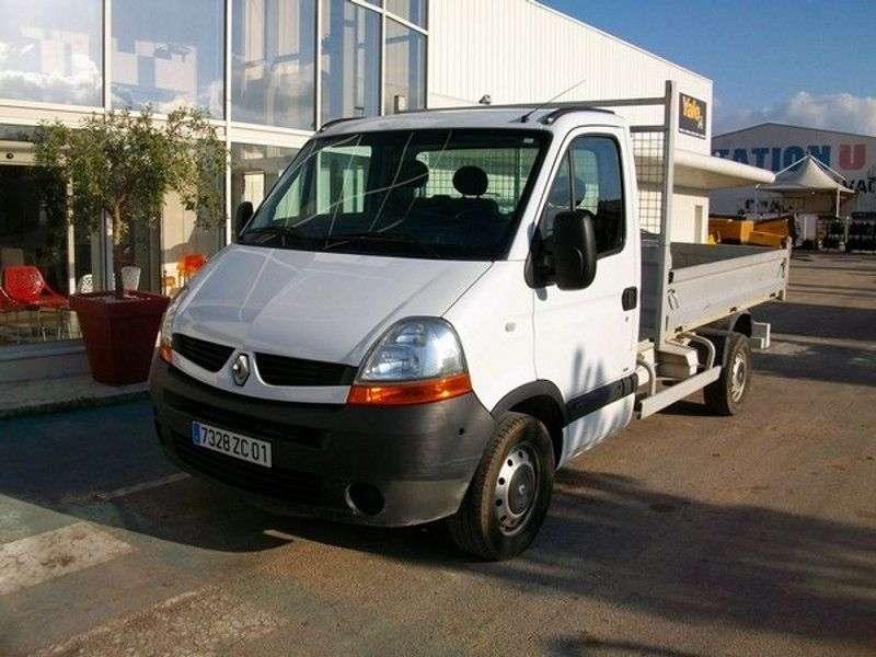 Renault Master 2nd generation [2nd restyling] board 2 bit 2.5 dCi Quickshift L3H1 (2006–2010)