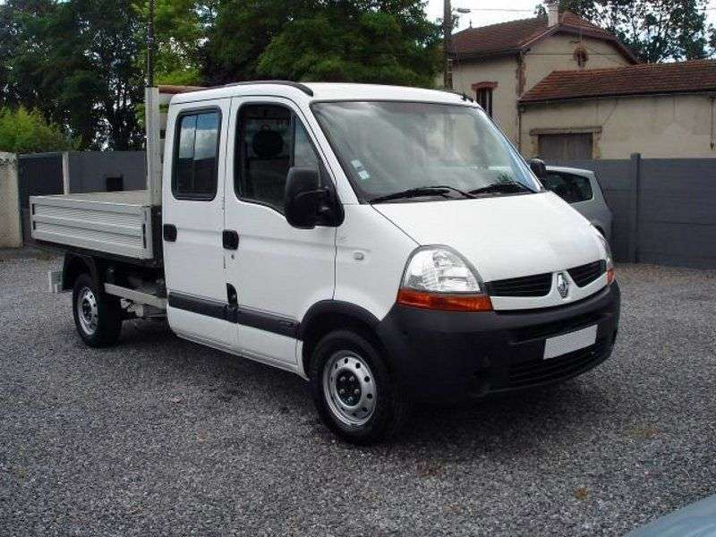 Renault Master 2nd generation [2nd restyling] board 4 bit. 2.5 dCi MT tipper L3H1 (2006–2010)
